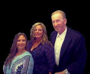 Team Paradise team photo of Brendan Maughan, Jillian Arce, and Maricruz Ayala